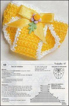 Crochet Tree Skirt Pattern For Beginners Baby Doll Clothes, Crochet Doll Clothes, Crochet Dolls, Baby Dolls, Baby Girl Crochet, Love Crochet, Crochet For Kids, Crochet Tree Skirt, Diaper Cover Pattern
