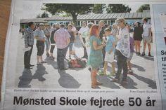 Skolejubilæum i Mønsted august 2013