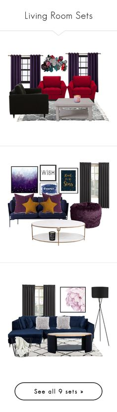 """""""Living Room Sets"""" by quotes4life101 ❤ liked on Polyvore featuring interior, interiors, interior design, home, home decor, interior decorating, Nodus, Jayson Home, Rachel Ashwell and LAFCO"""