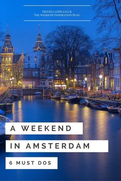 Amsterdam is the capital city of the Netherlands. It is understood throughout the world as one of the biggest little cities in the world. River Cruises In Europe, Cruise Europe, Europe Travel Tips, Places To Travel, Travel Guides, Travel Destinations, Travel 2017, Amsterdam Canals, Amsterdam Travel