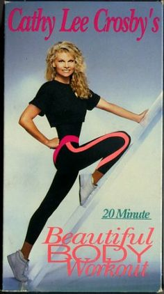 Cathy Lee Crosby's 20 Minute Beautiful Body Workout Exercise Video VHS