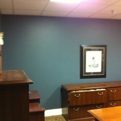 Mr. Ogelsby's office/ new paint and carpet