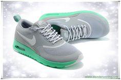 timeless design a03f5 c40e2 Light Gray   Verde 616723-810 Nike Air Max Thea Print bambas running Air Max