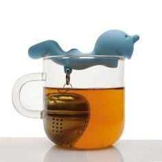 Infuseur à thé Mister P http://www.homelisty.com/boule-a-the-55-infuseurs-a-the-super-originaux/