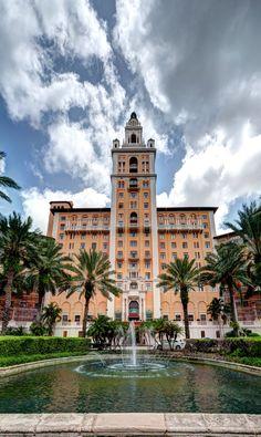 perfect wedding venue, the Biltmore hotel, Coral Gables, Miami, FL. This is a grand venue !