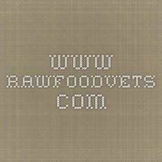 www.rawfoodvets.com