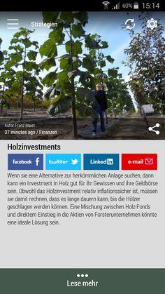 #Born2Invest: die besten Geschäfts- und Finanznachrichten aus den vertrauenswürdigen Quellen. Jetzt unsere kostenlose Android App herunterlade. #wood #investments #conventional