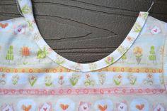 ikat zak: vrije schouders zomerjurk Deel 2 - Binding met Knit