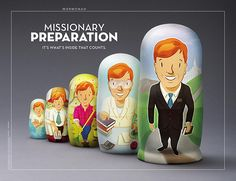 ♥ Mormon Ad:  Missionary Preparation - It is What's Inside that Counts