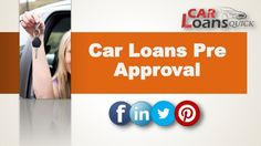 get pre approved for a car loan with bad credit
