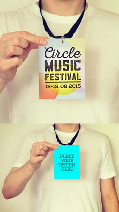 Free PSD Mockups for Designers - festival, concert, tshirt, notepad, soap, poster mock up free series