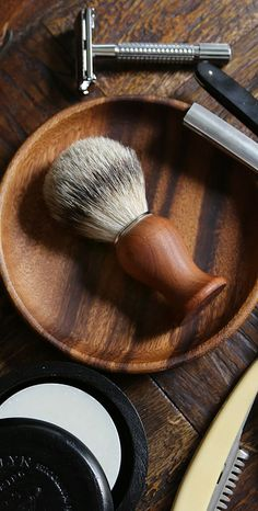 Limited Edition Shaving Brush by Brooklyn Grooming Barber Poster, Barber Logo, Shaving Oil, Shaving Brush, Shaving Stand, Village Barber, Barber Man, Barber Gifts, Beard Conditioner