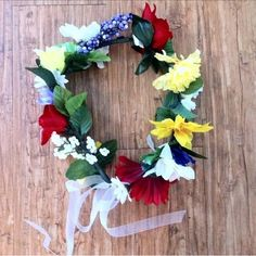 "Selling this ""Bold Flower Crown"" in my Poshmark closet! My username is: okayroque. #shopmycloset #poshmark #fashion #shopping #style #forsale #Handmade #Accessories"
