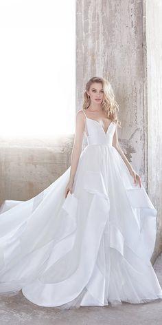 15 Hayley Paige Wedding Dresses For A Romantic Bride 56d7a5a95501