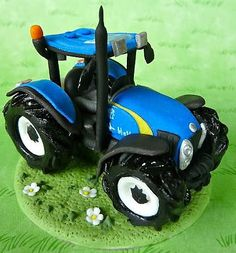 blue tractor wedding cake topper deere tractor cake except make it pink maddies 12009