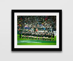 NZ All Blacks Photography print // Rugby photography // New