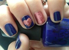 Miscellaneous Manicures: Rosie Lee Heart