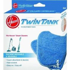 Hoover Enhanced Clean Steam Mop Pad (2-Pack), WH01000 -   - http://homesegment.com/home-kitchen/vacuums-floor-care/steam-cleaners-accessories/hoover-enhanced-clean-steam-mop-pad-2pack-wh01000-com/