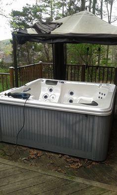Goodbye old hot tub. Hello new patio furntiure!  GSD Junk Hauling 256.735.9494