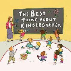 """The Best Thing About Kindergarten"" by Jennifer Lloyd; illustrated by Qin Leng. Kindergarten-Grade 1"