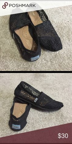 Toms Super cute toms they have sparkle in them! TOMS Shoes