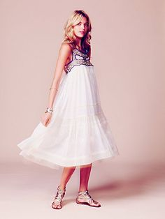 Kristal's Limited Edition White Summer Dress - Free People