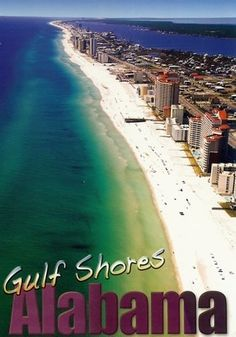 Gulf Shores, Alabama. Gorgeous beach that isn't crowded and family oriented.