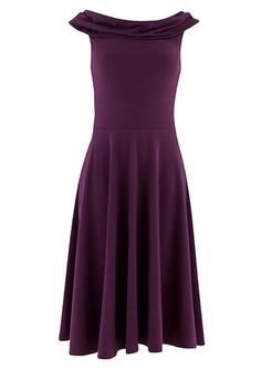 Wearing this dress I would be twirling around all day! Clementine Dress in Blackberry by People Tree, 95% organic, fairtrade cotton. #fashionforaction