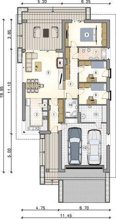 Affordable House Plans, Design Case, Postmodernism, Sunroom, Home Goods, Floor Plans, House Design, Flooring, Contemporary