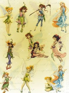Anything that has to do with the Disney fairies. Mainly Tinkerbell. Tinkerbell Movies, Tinkerbell And Friends, Peter Pan And Tinkerbell, Peter Pan Disney, Disney Love, Disney Magic, Disney Art, Disney Girls, Disney Princess