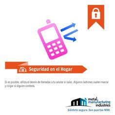 Si sales de casa por varios días por #seguridad utiliza el desvío de llamadas de tu teléfono de casa a tu número celular.