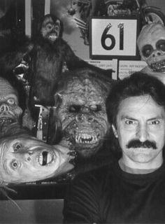 Tom Savini Horror Icons, Horror Films, Horror Room, Tom Savini, Francois Truffaut, Horror Drawing, Halloween Horror, Halloween Masks, Horror Photos