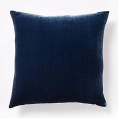 Luxe Velvet Pillow Cover - Midnight
