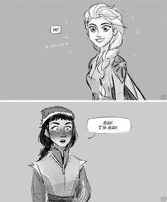 """""It's a family thing"" (thread, (third time I try to post this. Disney Diy, Arte Disney, Disney Fan Art, Disney Love, Disney Frozen, Disney Stuff, Harry Potter Disney, Disney Memes, Narnia"
