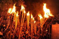 Godo, ogaki + Fire festival - Google Search