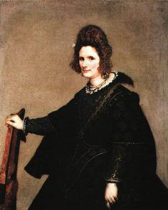 Portrait of a Lady 1630 3  Gemalderie, Berlin  Diego Velazquez
