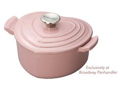 Le Creuset Antique Rose Heart Casserole Product - Cool Mom Picks Mother's Day Guide