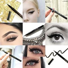 Did you know our Stay All Day Liquid Eyeliner is the MOST pinned eyeliner on Pinterest? For a perfect cat flick to last you from morning til' night – it's the only liner to use! ✍🏻👁