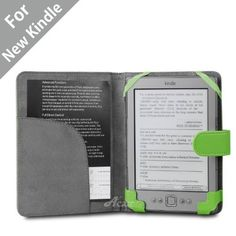 """Acase(TM) Classic Kindle Leather Case (Apple Green) for 4th Generation 6"""" Kindle Wi-Fi w/o Keyboard (Not for Kindle Touch) by Acase. $12.95. Get the best Amazon Kindle case from the best selling iPAD case manufacture Acase. This case has a black leather exterior with a matching black soft micro fiber padding in the interior. The leather case provides complete protection for your Amazon kindle reading device. The case has flexible straps on top corners to secure Amazon Kindle..."""