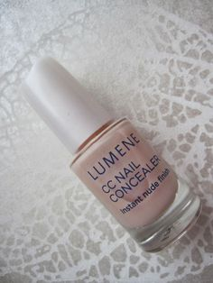 Lumene CC Nail Concealer - my favourite :-) www.funkyandfifty.blogspot.com # Lumene CC Concealer