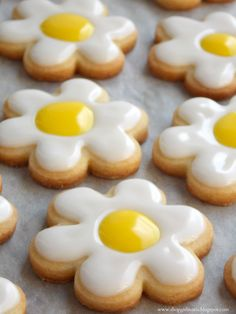 Daisy Sugar Cookies