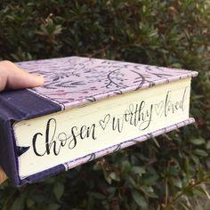 Chosen, Worthy, Loved. Bible Journaling