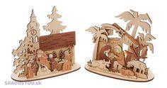 Christmas tea candle stand