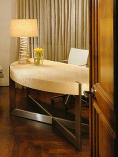 Curved Desk - modern - desks - phoenix - by Jamie Herzlinger