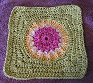 Ravelry: Framed Flower (IVES) Tutorial--Crochet pattern by Margaret MacInnis.. Free pattern!