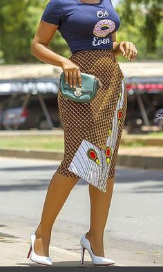 Looking for the best kitenge designs in Africa? See images of kitenge dresses and skirts, African outfits for couples, men's and baby boy ankara styles. African Print Skirt, African Print Dresses, African Dress, African Prints, African Fabric, Latest African Fashion Dresses, African Print Fashion, Africa Fashion, Ankara Fashion