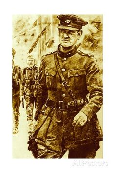 Michael Collins, Leader of the Rebels in the Easter Uprising in Ireland, 1916 Giclee Print - by AllPosters.ie