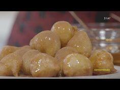 Λουκουμάδες | Ώρα για φαγητό με την Αργυρώ | 18/12/2020 - YouTube Potatoes, Fruit, Vegetables, Food, Youtube, Potato, Essen, Vegetable Recipes, Meals