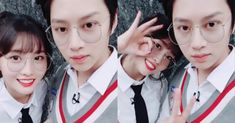 A great friend to Sulli and Hara, Super Junior's Heechul has found love with Twice's Momo. Korean Celebrity Couples, Kpop Couples, Korean Celebrities, Super Junior, Kpop Girl Groups, Kpop Girls, K Pop, Hyuna, Kim Heechul