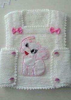 "Crochet ""Bebe Yeleği, baby waistcoat, b"" Baby Knitting Patterns, Knitting Designs, Baby Patterns, Free Knitting, Crochet Patterns, Baby Pullover, Baby Cardigan, Diy Crafts Knitting, Crochet Projects"